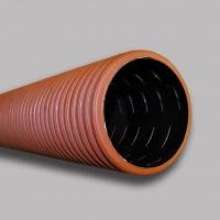 Трубы ПНД для дренажа двухслойные