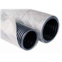 Трубы дренажные ПНД двухслойные с фильтром