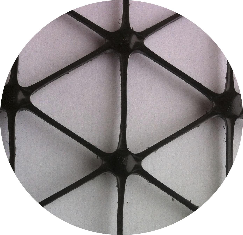 трехосные георешетки