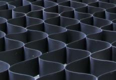 объемная полимерная георешетка